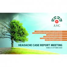 2-4/10/2020 - Headache Case Report Meeting ASC