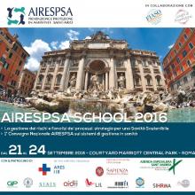 21-24/9/2016 - AIRESPSA School 2016