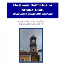 8/6/2019 - Gestione dell'Ictus in Stroke Unit: dalle linee guida alla real life